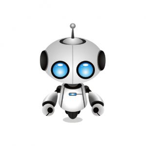 White custom chatbot